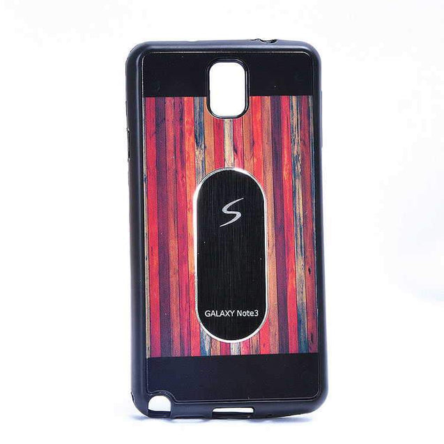Samsung Galaxy Note 4 Multi Color TPU Back Cover Case Black