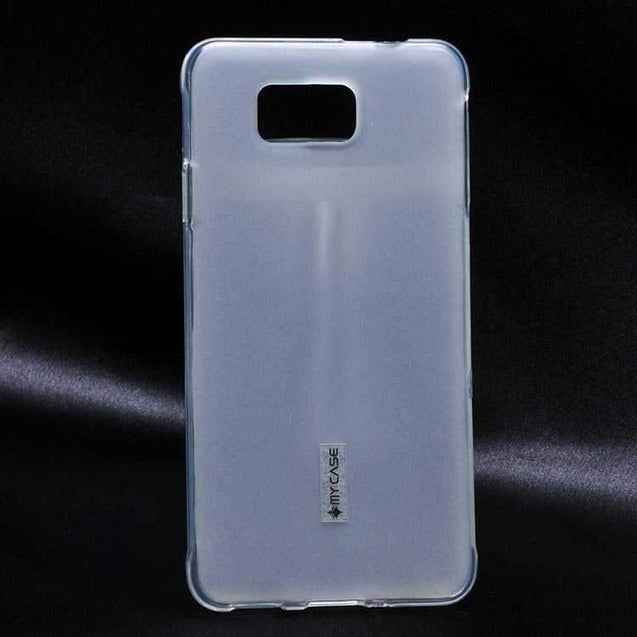 Samsung Galaxy Alpha G850F Premium Candy Soft Jelly Back Cover Case White