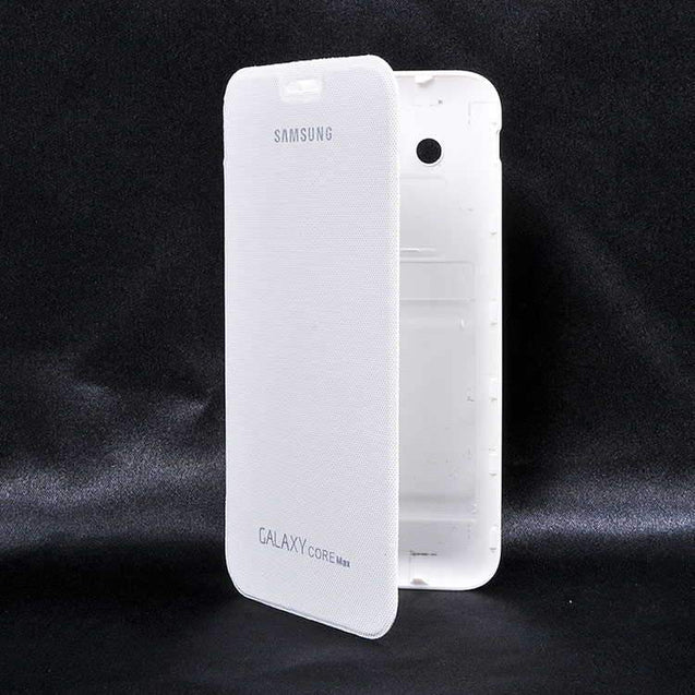 Samsung Galaxy Core Max G510 Flip Cover Case White