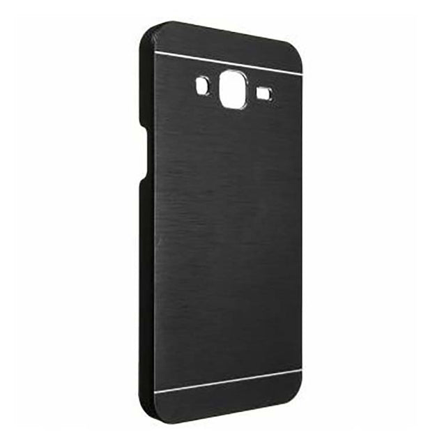 Samsung Galaxy Grand Quattro I8552 MOTOMO Hard Back Case Cover Black