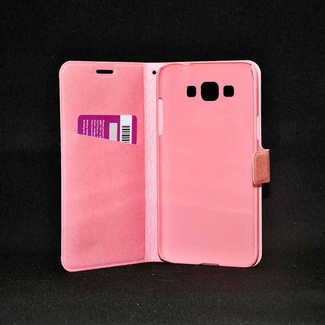 Samsung Galaxy Grand 3 Hallsen Flip Cover Case Pink