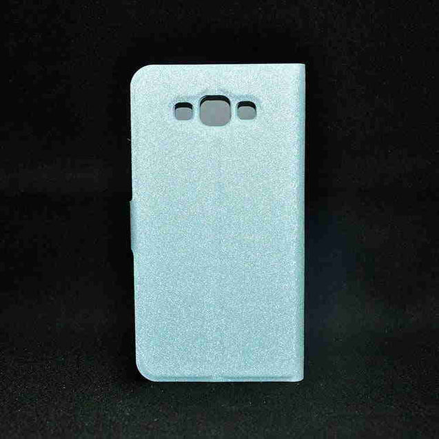 Samsung Galaxy Grand 3 Hallsen Flip Cover Case SkyBlue