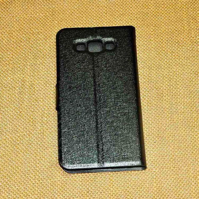 Samsung Galaxy Grand 3 Hallsen Flip Cover Case Black