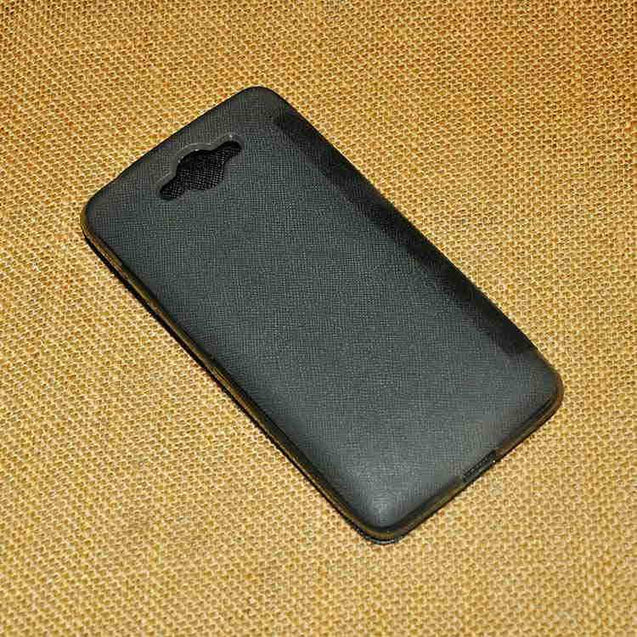 Samsung Galaxy Core Max G5108Q Premium Shiny Flip Cover Black