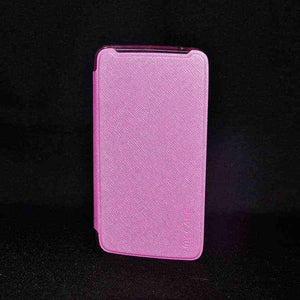Samsung Galaxy Core Max G5108Q Flip Cover case Sparkle leather cover Pink