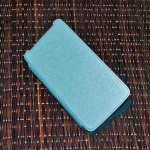 Samsung Galaxy Core Max Flip Cover case Sparkle leather cover Sky Blue