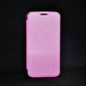 Samsung Galaxy S6 G920 Premium Shiny Flip Cover Pink