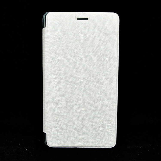 Xiaomi Mi Note Pro Flip Flap Cover Caidea Leather Case White