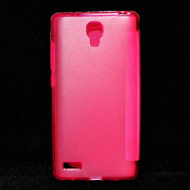 Xiaomi Mi Note Pro Flip Flap Cover Caidea Leather Case Hotpink