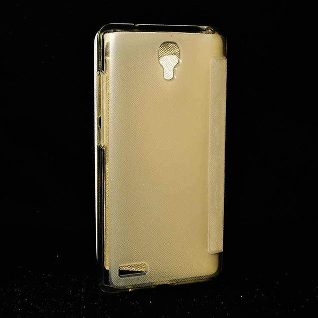 Xiaomi Mi Note Pro Flip Flap Cover Caidea Leather Case Gold