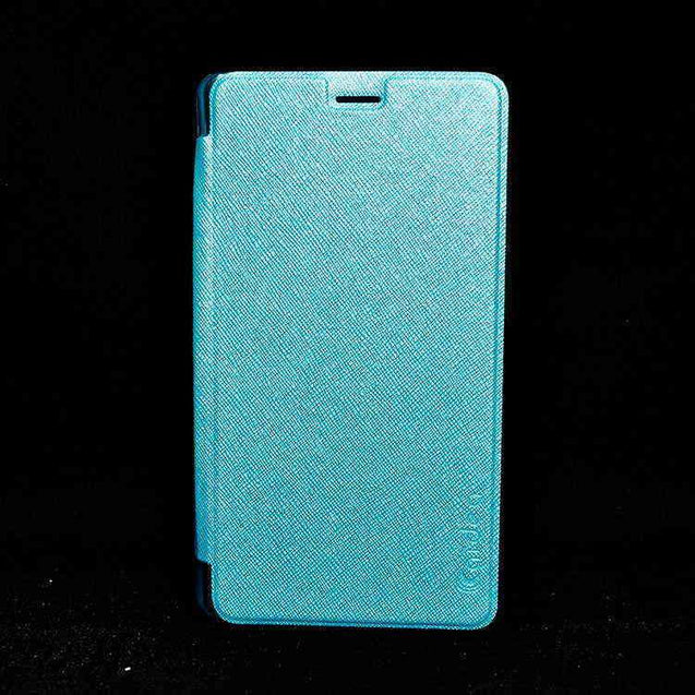 Xiaomi Mi Note Pro Flip Flap Cover Caidea Leather Case Skyblue