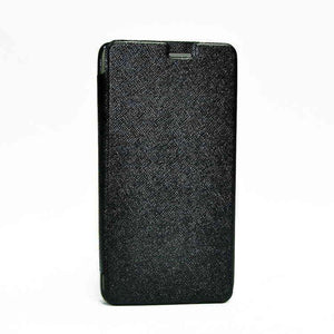 Samsung Galaxy Note Edge Flip Cover Caidea Leather Case Black