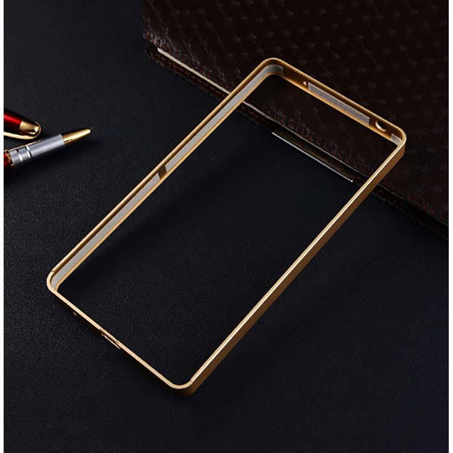 Xiaomi Redmi Note Bumper Metal Case Gold