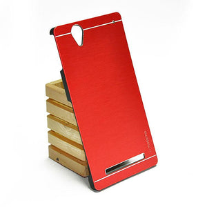 Sony Xperia T2 Ultra/Ultra Dual Back Cover Motomo Case (Red)