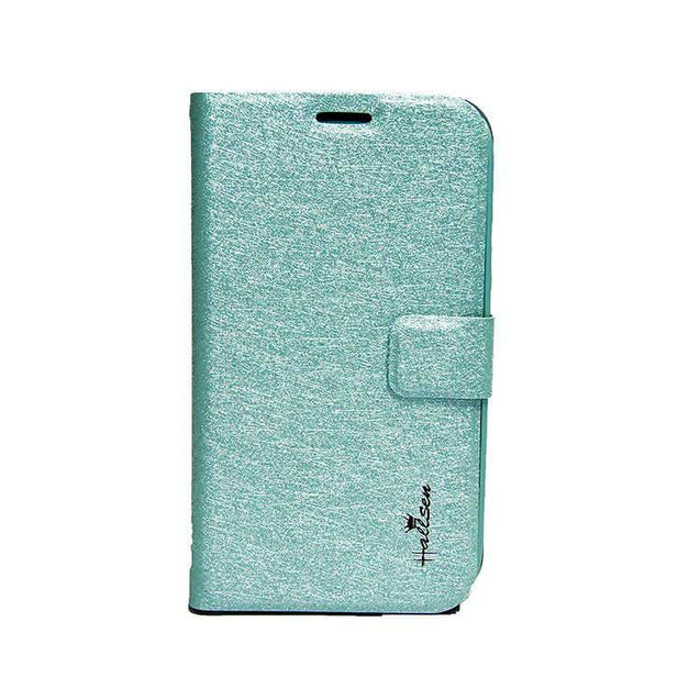 Samsung Galaxy Grand Flip Cover Hallsen Case Sky Blue