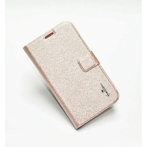 Samsung Galaxy Grand Flip Cover Hallsen Wallet Case Light Pink