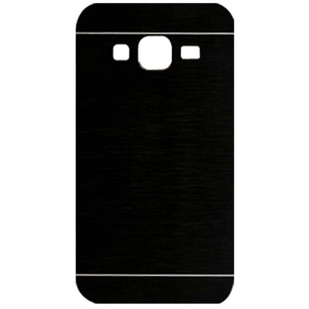 Samsung Galaxy J5 SM J500F Motomo Metal Hard Back Cover Case Black