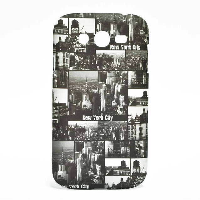 Samsung Galaxy Grand Hard Back Cover New York Designed Case Black