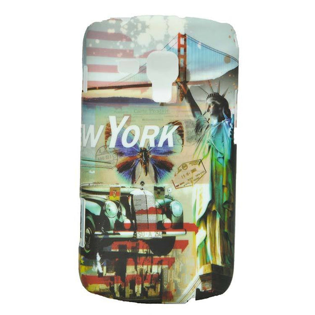 Samsung Galaxy S Duos S7562 Back Cover New York Soft Back Case
