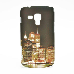 Samsung Galaxy S Duos S7562 Hard Back Cover Twin Cities Designed Case