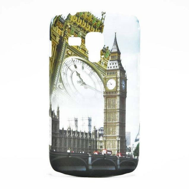 Samsung Galaxy S Duos S7562 Cover Clock Tower Printed Hard Back Case