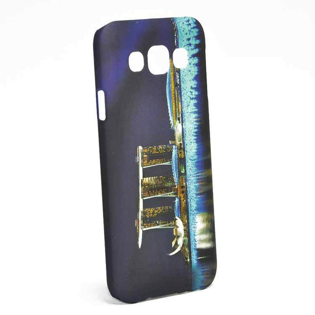 Samsung Galaxy E5 E500F Pool Designed Hard Back Cover Case