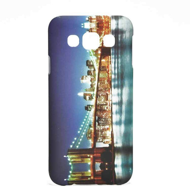 Samsung Galaxy E5 Back Cover NewYork Building Designed Hard Back Case