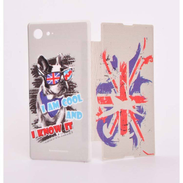 Sony Xperia E3 Dual Flip Cover Quotation Printed Design Case