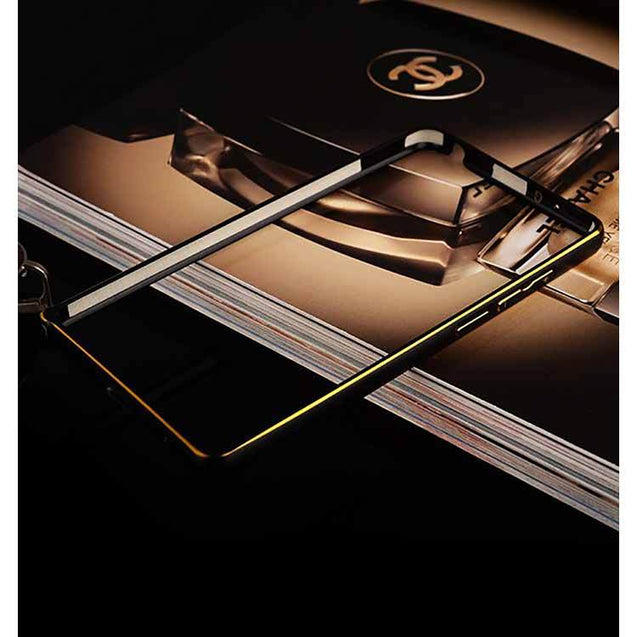 Xiaomi Mi Note Metal Bumper Case Black Gold