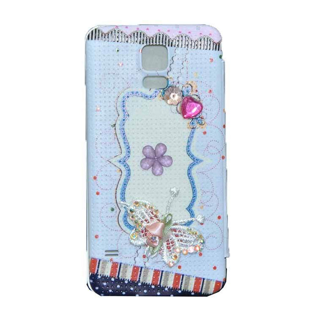Samsung Galaxy S5 Flip Cover Fancy 3D Butterfly Fashion Design Luxury Flip Case