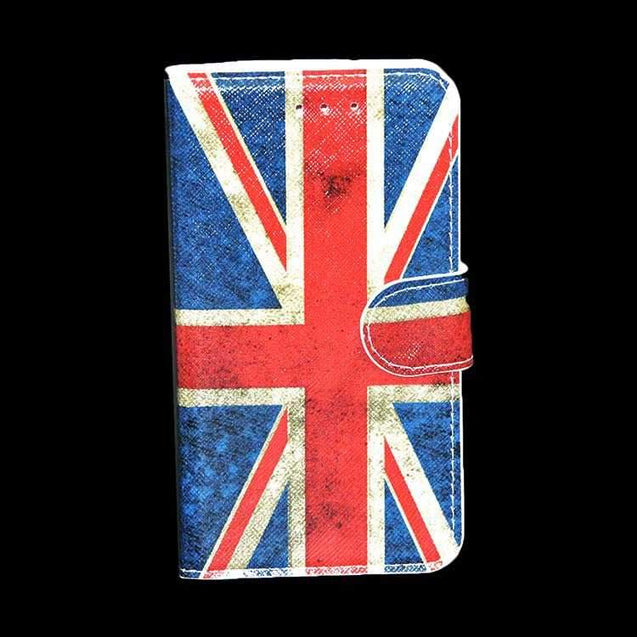 Samsung Galaxy E5 Flip Cover Designed With American Flag Flip Case