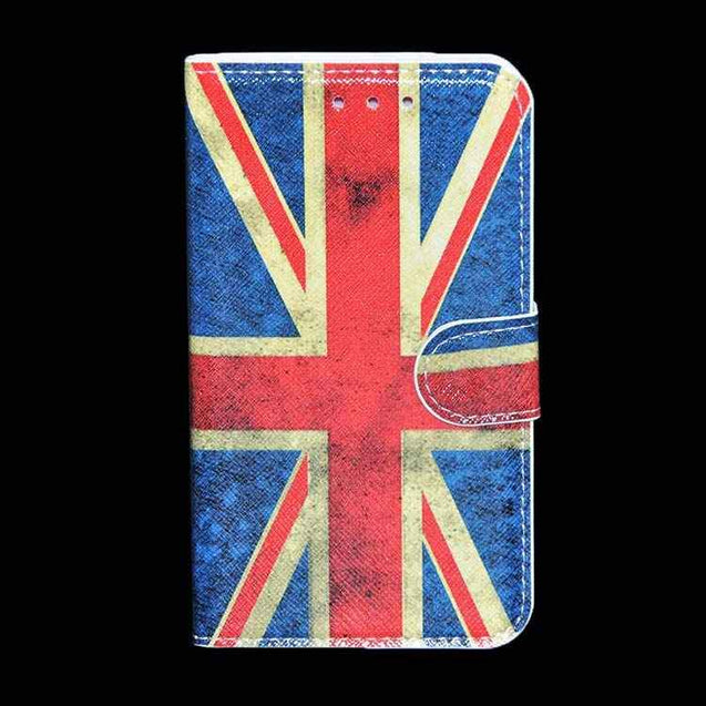 Samsung Galaxy Grand 2 Flip Flap Cover With American Flag Designed Flip Case