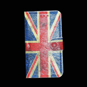 Samsung Galaxy A7 Flip Flap Cover With England Flag Designed Flip Case