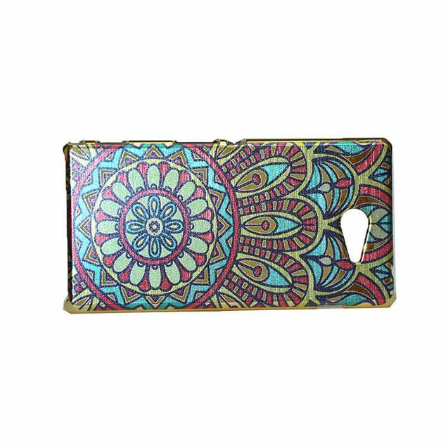 Sony Xperia M2 Dual Back Cover Ethnic Printed Design Shiny Hard Case Multi Color