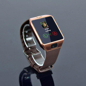 PTron Tronite Bluetooth Smartwatch Sport Wrist Watch Phone Support with Camera for Mobile Smartphones (Bronze) @ Latestone.com