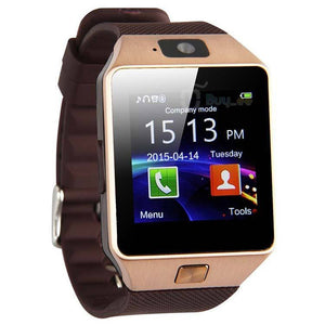 ptron tronite bluetooth smartwatch with camera for mobile smartphones