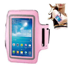 Samsung Galaxy S3 S4 S5 Fashion Sports Exercise Smartphone Armband Light Pink