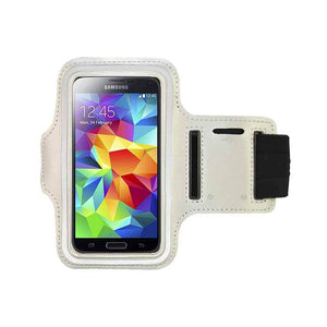 Samsung Galaxy S3 S4 S5 Fashion Sports Exercise Gym Smartphone Armband White
