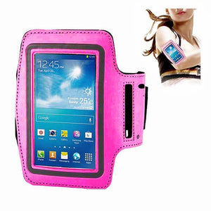 Samsung Galaxy S3 S4 S5 Fashion Sports Exercise Gym Smartphone Armband Hot Pink