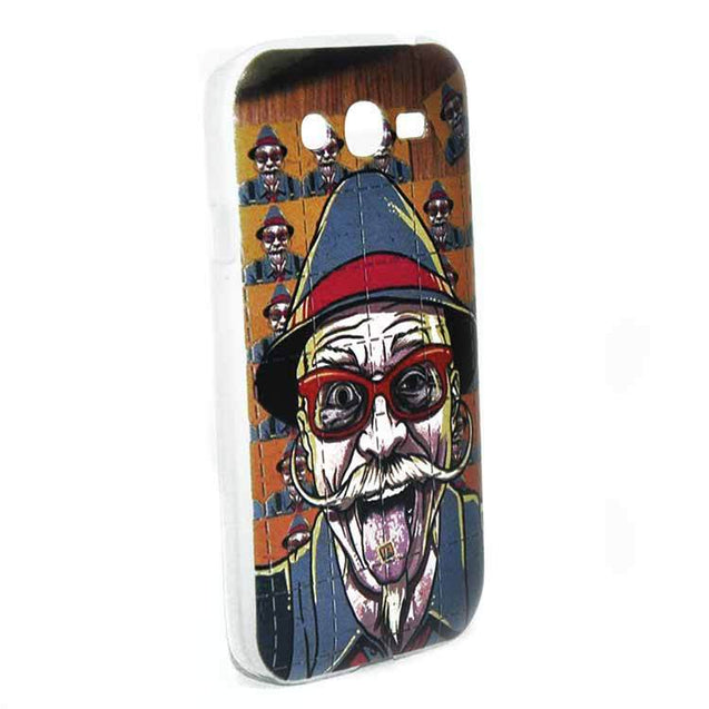 Samsung Galaxy Grand Back Cover Old Man Mustache Printed Fashion Hard Back Case