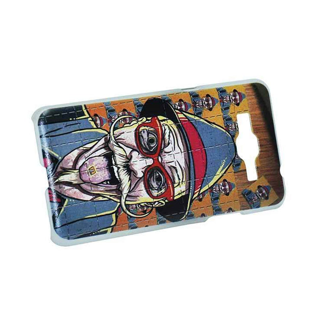 Samsung Galaxy Grand Prime Back Cover Old Man Mustache Printed Fashion Hard Back Case