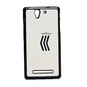 Sony Xperia C3 Back Cover Motomo Soft Back Cover Case White