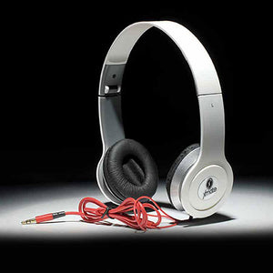 Xmate High Quality Stereo Headphones with 3.5mm Jack For All Smartphones (White)