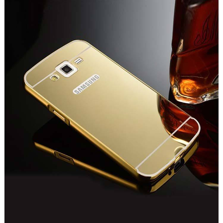 the latest 93f74 c9a2d samsung galaxy j2 back cover mirror metallic back case cover gold