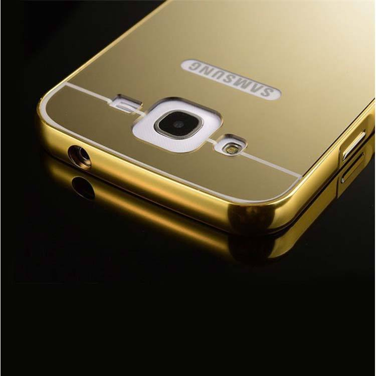 the latest ab5f7 ce7b3 samsung galaxy j2 back cover mirror metallic back case cover gold