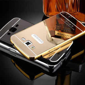 Samsung Galaxy Grand Back Cover Mirror Aluminium Metallic