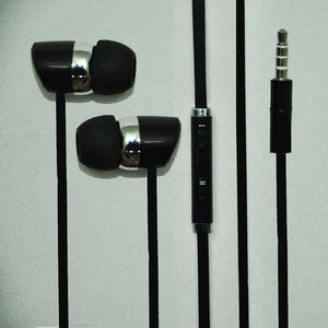 Universal Headphone In Ear Earphone With 3.5mm Jack Mic S32 For All Smartphones (Black)