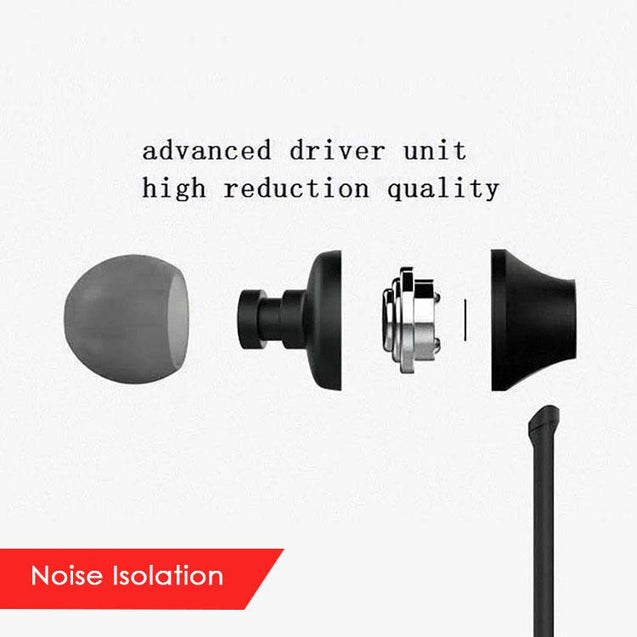 PTron HBE9 Headphone In Ear Earphone With 3.5mm Jack For Xiaomi Redmi 5A (Black)