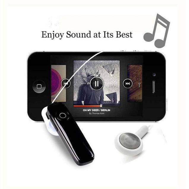 Buy PTron HBE7 Deep Bass Mic Headphone and Get Xmate Genie Mini Bluetooth Black Earphone Free