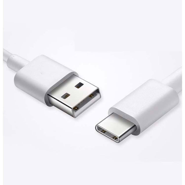 PTron USB Type C Cable Data Sync Charging Cable Compatible For All Type C USB Smartphones (White)